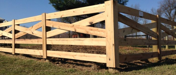 Wood Board Fence Petty Farms Fence Installation